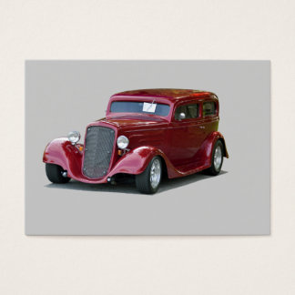 1934 Customized Coupe Hot Rod Business Card