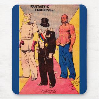 1934 Dr. Zarkov paper doll Flash Gordon Mouse Pad
