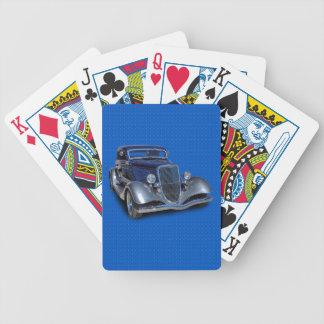 1934 VINTAGE CAR BICYCLE PLAYING CARDS
