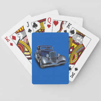 1934 VINTAGE CAR PLAYING CARDS