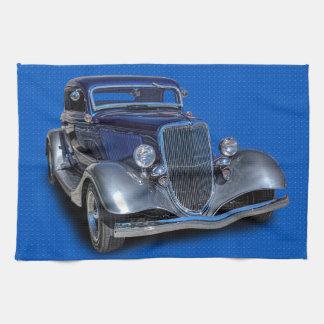 1934 VINTAGE CAR TEA TOWEL