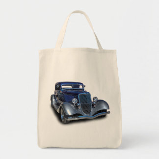 1934 VINTAGE CAR TOTE BAG