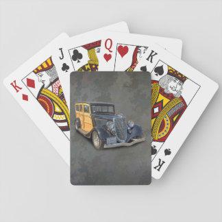 1934 VINTAGE WOODIE PLAYING CARDS