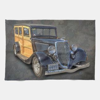 1934 VINTAGE WOODIE TEA TOWEL