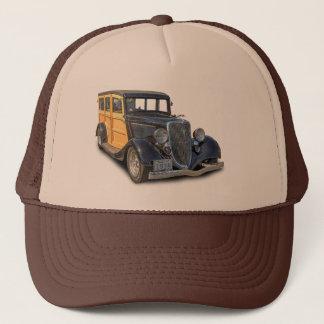 1934 VINTAGE WOODIE TRUCKER HAT