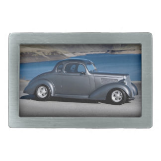 1935 Chevy Master Coupe Hot Rod Scenic Lake Belt Buckles