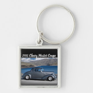 1935 Chevy Master Coupe Hot Rod Scenic Lake Key Ring