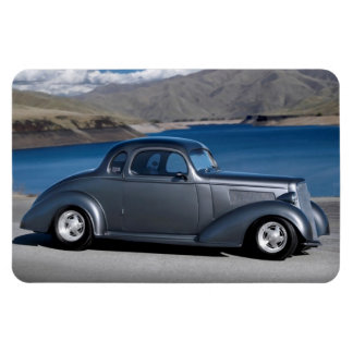 1935 Chevy Master Coupe Hot Rod Scenic Lake Magnet