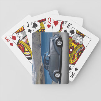 1935 Chevy Master Coupe Hot Rod Scenic Lake Playing Cards