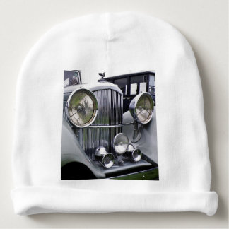 1935 DERBY BENTLEY CAR Baby Beanie Hat