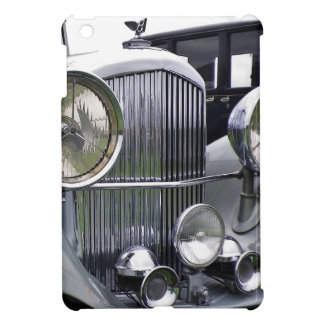 1935 DERBY BENTLEY CAR iPad Case