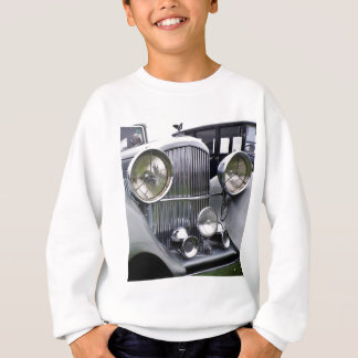 1935 DERBY BENTLEY CAR Kids Sweatshirt