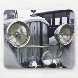 1935 DERBY BENTLEY CAR Mouse Pad Mat