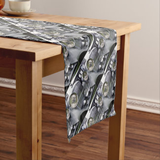 1935 DERBY BENTLEY CAR Table Runner Cloth