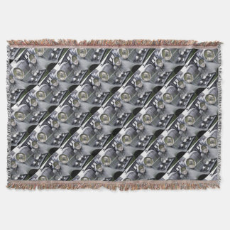 1935 DERBY BENTLEY CAR Throw Blanket