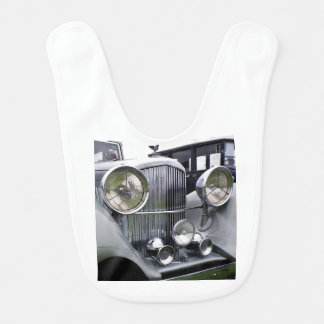 1935 Derby Bentley Classic Car Baby Bib