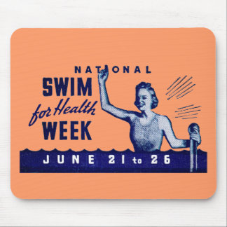 1935 Swim For Health Mouse Pad