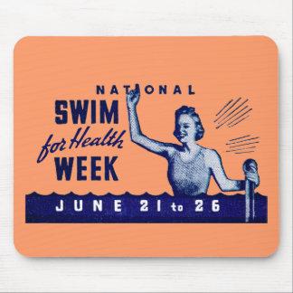 1935 Swim For Health Mousepad