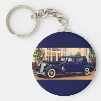 1936 blue Packard Key Ring