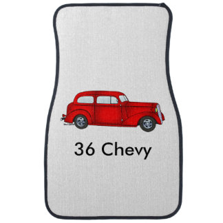 1936 Chevrolet 2 Door Sedan Car Mat