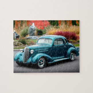 1936 Chevy Hot Rod Coupe Chevrolet Classic Car Jigsaw Puzzle