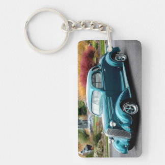 1936 Chevy Hot Rod Coupe Chevrolet Classic Car Key Ring