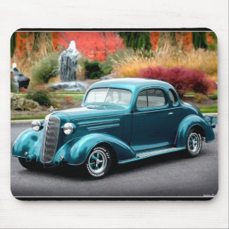1936 Chevy Hot Rod Coupe Chevrolet Classic Car Mouse Pad