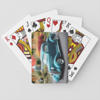 1936 Chevy Hot Rod Coupe Chevrolet Classic Car Playing Cards