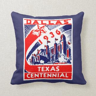 1936 Dallas Texas Centennial Cushions