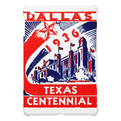 1936 Dallas Texas Centennial iPad Mini Covers