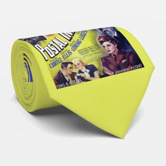 1936 Postal Inspector movie poster print Tie