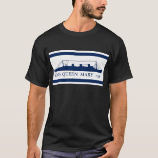 1936 Queen Mary blue design 2 T-Shirt