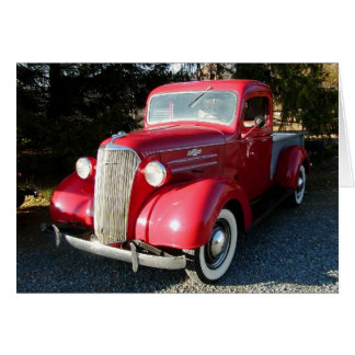 1937 Chevy Pickup Card