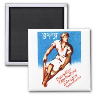 1937 Prague Poster Magnets
