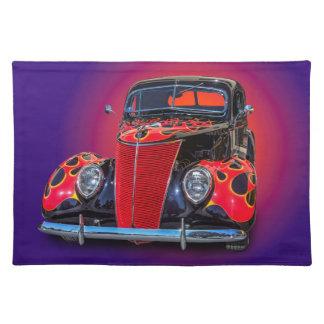 1937 VINTAGE CAR PLACEMAT