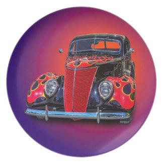 1937 VINTAGE CAR PLATE