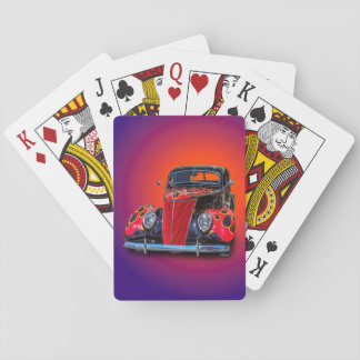 1937 VINTAGE CAR PLAYING CARDS