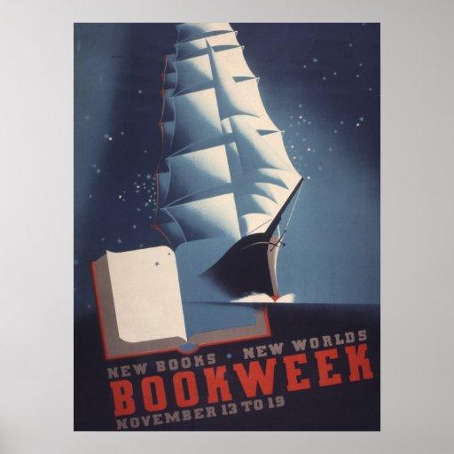 1938 Children's Book Week Poster