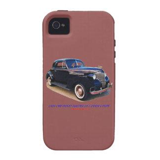 1939 CHEVROLET MASTER 85 2 DOOR COUPE iPhone 4/4S CASES