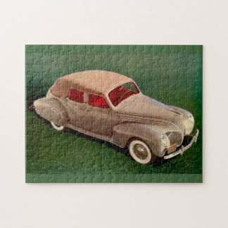 1939 Lincoln Zephyr Jigsaw Puzzle