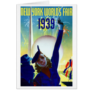 1939 New York World's Fair #2 Card
