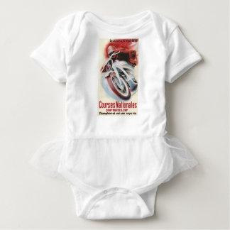 1939 Swiss National Motorcycle Racing Championship Baby Bodysuit