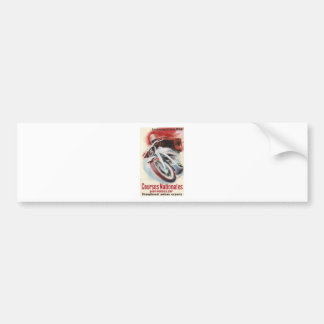 1939 Swiss National Motorcycle Racing Championship Bumper Sticker