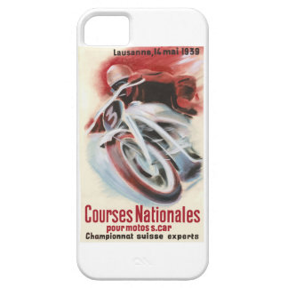 1939 Swiss National Motorcycle Racing Championship Case For The iPhone 5