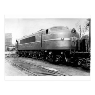 1939 World's Fair Train On Display New Haven Postcard