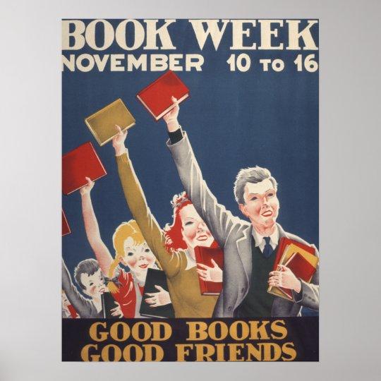 1940 Children's Book Week Poster