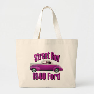 1940 Ford Deluxe Coupe Street Rod Pretty in Pink Bags