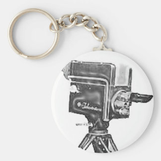 1940 s or 1950 s Broadcast Studio TV Camera Key Chain