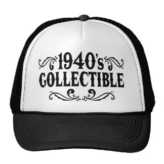 1940's Collectible 60th 65th Birthday Hats