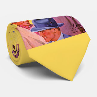 1940s men in hats tie